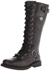 Harley-Davidson Women's Jill Motorcycle Boot, Black, 8.5 M US