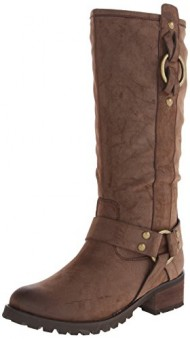 Penny Loves Kenny Women's Edge Riding Boot, Brown Matte, 6.5 M US