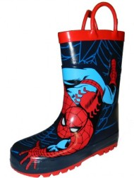 Western Chief Kids Marvel Superhero Rubber Pull On Rain Boot,10 M US Toddler,Red Spiderman.Red Spiderman