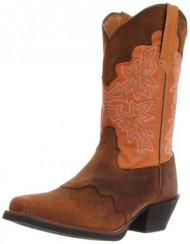 Tony Lama Women's Dusty Cherokee RR2107L Boot,Dusty Cherokee/Husk Santa,7.5 B US