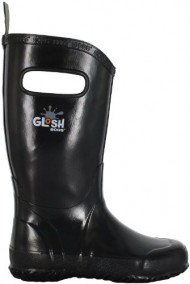 Bogs Kids Solid Rain Boot (Toddler/Little Kid/Big Kid),Black,9 M US Toddler