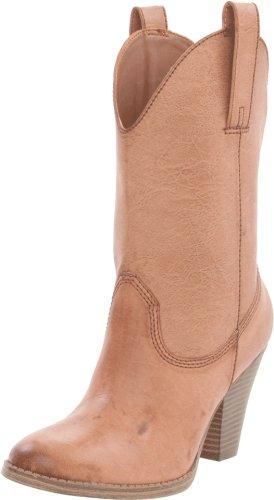 Madden Girl Women S Cactuss Boots: Madden Girl Women's Snappiee Boot,Cognac Paris,7.5 M US
