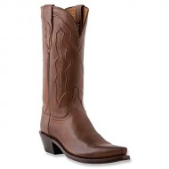 Lucchese Women's Handcrafted 1883 Grace Cowgirl Boot Snip Toe Tan US