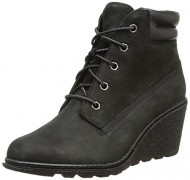 Timberland Women's Black EK Amston 6″ Boot 5.5 B(M) US