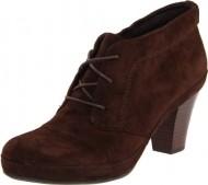 Clarks Women's Vermont Vista Boot,Dark Brown Suede,6 M US