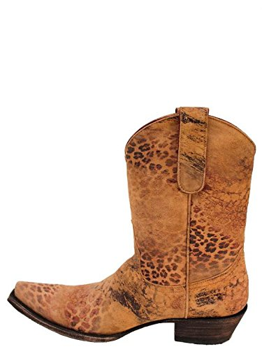 Old Gringo Leopardito 10″ Womens Boots – L168-22 – 7.5 – M