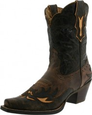 Ariat Women's Dahlia Western Fashion Boot, Silly Brown/Chocolate Floral, 7.5 M US