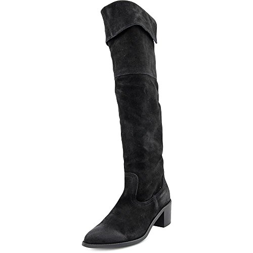 Report Signature Women's Justeen Western Boot, Black, 8 M US