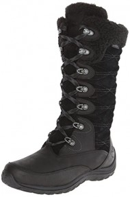 Timberland Women's EK Willowood WP INS Snow Boot,Black,5.5 M US
