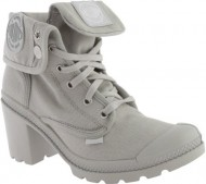 Palladium Women's Baggy Heel Chukka Boot, Vapor, 7.5 M US