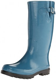 Nomad Footwear Women's Puddles Rain Boot, Blue, 9 M US