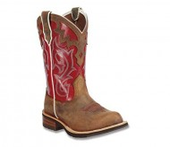 Ariat Women's Unbridled Cowgirl Boot Round Toe Brown 7 M US