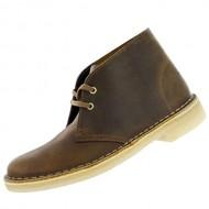 Clarks Originals Women's Desert Lace-Up Boot,Beeswax,8 M US