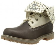 Timberland Women's EK Authentics Canvas Fold Down Boot, Dark Olive Dry Gulch, 8.5 M US