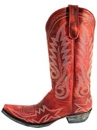 Old Gringo New Nevada Red Womens Boots – L175-262 – 6.5 – M