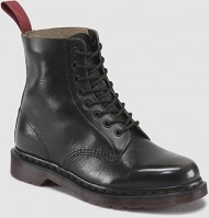 Dr. Martens Women's Pascal 8 Eye Black Boots 5 M UK, 7 M