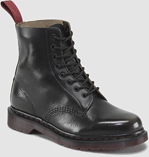 Dr. Martens Women's Pascal 8 Eye Black Boots 5 M UK, 7 M