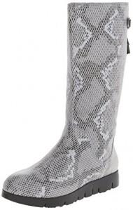 TSUBO Women's Eilis Snake Rain Boot,Charcoal,6.5 M US
