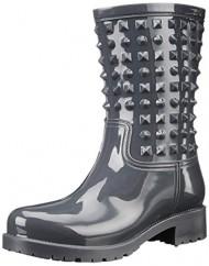 Dirty Laundry Women's Rock It PVC Rain Boot, Grey, 7 M US