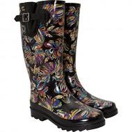 Sakroots Women's Rain Boots, 6, Multi