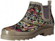 The SAK Women's Rhyme Rain Boot, Charcoal One World, 8 M US