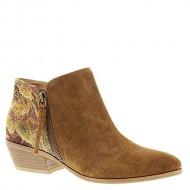 Yellow Box Acacia Women's Boot 8.5 B(M) US Tan-Multi-Floral-Suede