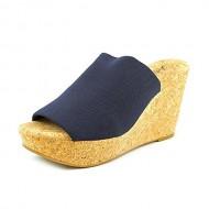 Lucky Women's Marilynn Wedge Sandal,Moroccan Blue,8 M US