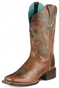 Ariat Womens Tombstone Boot, Sassy Brown, 9.5 B US