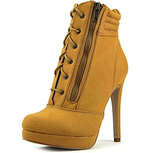 Madden Girl Hartson Women US 9.5 Tan Ankle Boot