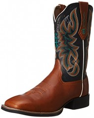 Tony Lama Women's Western-RR2116L Boot,Tan,8.5 B US