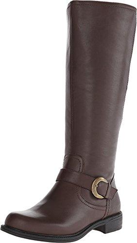David Tate Women's Branson – Wide Shaft Brown Boot 7 M (B)