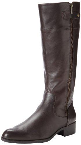 Easy Spirit Women's Dembra Riding Boot,Dark Brown,8 W US