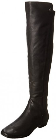 Vince Camuto Women's Karita Riding Boot, Black, 6 M US