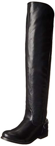 Wild Pair Women's Quebec Chelsea Boot, Black, 10 M US
