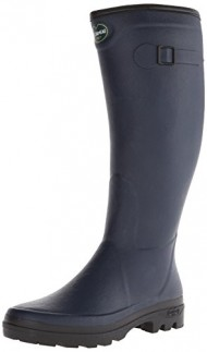 Le Chameau Women's Country LD Rubber Boot,Navy Blue,8 M US