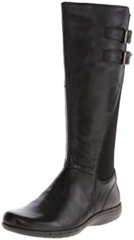Cobb Hill Women's Peyton-Ch Harness Boot,Black,11 M US