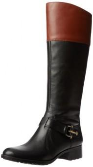 Circa Joan & David Women's Takara Leather Boot,Black Multi Leather,6.5 M US