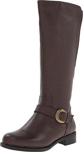 David Tate Women's Branson – Extra Wide Shaft Boot,Brown,7.5 M US