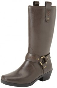 Bogs Women's Dakota Tall Harness Boot,Coffee,9 M US