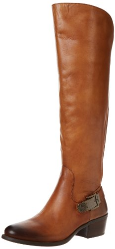 Vince Camuto Women's Bedina Riding Boot,Western Brown,6 M US