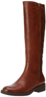 Enzo Angiolini Women's Shobi Riding Boot,Dark Natural Leather,6 M US
