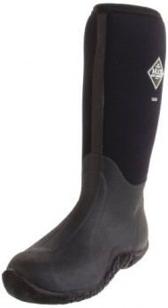 The Original MuckBoots Adult Tack Classic Hi-Cut Boot,Black,Men's 9 M/Women's 10 M