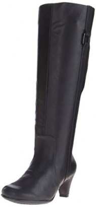 Aerosoles Women's School Play Riding Boot,Black Combo,8 M US