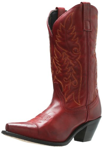 Laredo Women's Madison Boot,Burnished Red,7.5 B (M) US