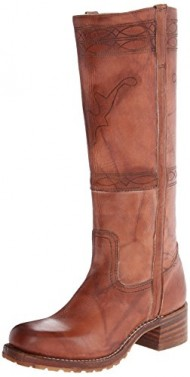 FRYE Women's Campus Stitching Horse Riding Boot, Saddle Montana Stonewash, 11 M US
