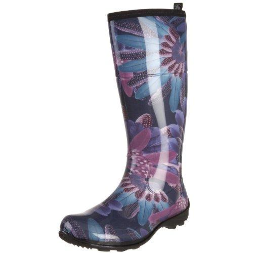 Kamik Women's Heather Rain Boot,Purple/Violet,6 M US