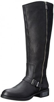 Circus by Sam Edelman Women's Rider 2 Wide Calf Equestrian Boot,Black,6 M US