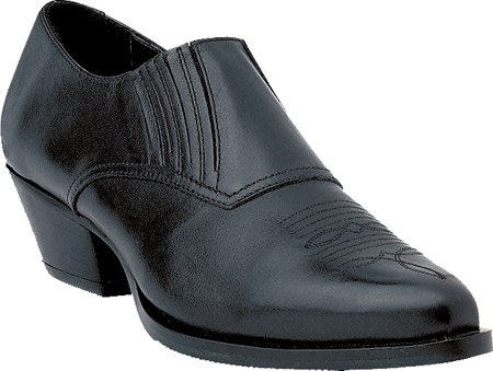 Durango Boot Women's RD3520 Slip-on Shoes,Black Leather,6 M