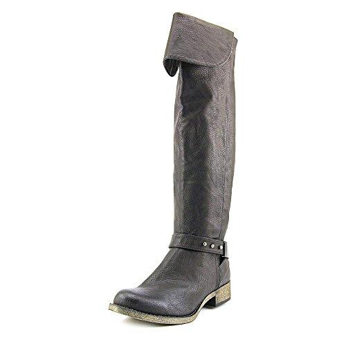 Rocket Dog Women's Cowellhy Motorcycle Boot, Black, 10 M US