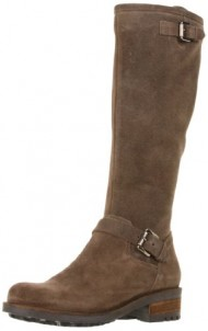 La Canadienne Women's Caleb Boot,Stone Oil Suede,10 M US